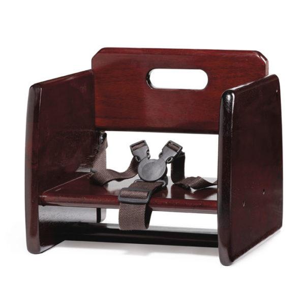 G.E.T. Booster Seat, T-Strap mahogany