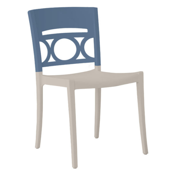 Grosfillex Moon Sidechair_DenimBlue_Linen